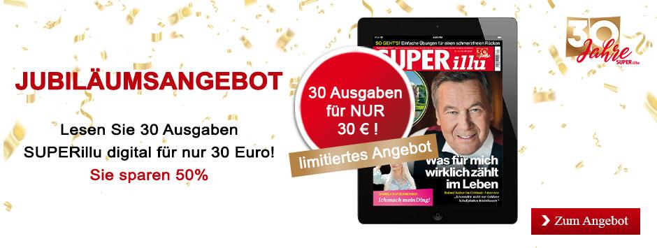 SUPERillu - Jubiläumsangebot - 30 Ausgaben für 30 € - September 2020