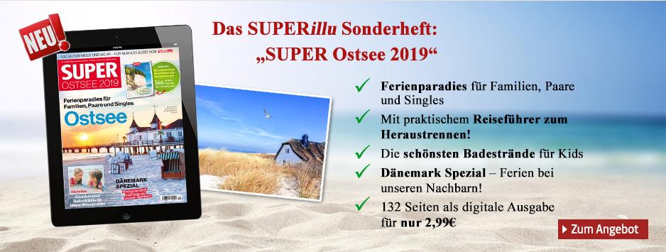 Das SUPERillu Sonderheft Ostsee 2019