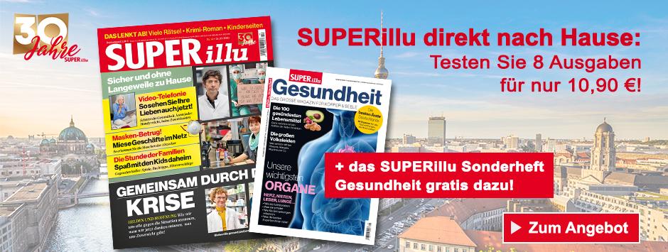 Superillu Miniabo + WMF Isolierbecher - März 2020