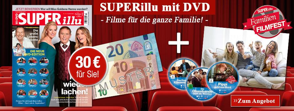 Die neue Kult-Staffel ist da! Sichern Sie sich jetzt die SUPERillu mit DVD!