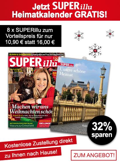 SUPERillu - Miniabo + Heimatkalender - Winter 2020