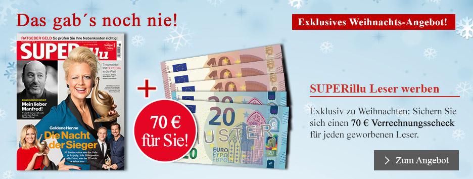 SUPERillu-Weihnachts-Angebot