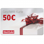 50 € Weltbild Geschenkkarte