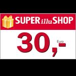 30 € SUPERillu Shop Gutschein