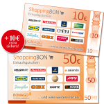 50 € + 10 € ShoppingBON