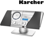 KARCHER Design Stereo Musik-Center
