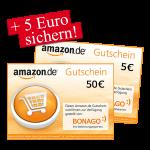 50 € + 5 € Amazon.de Gutschein