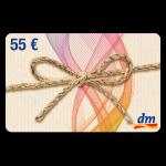 55 € dm-drogerie Gutschein