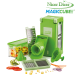 Nicer Dicer Magic Cube, Set 12-tlg.