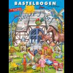 """Bastelbogen """"Unser Dorf"""""""