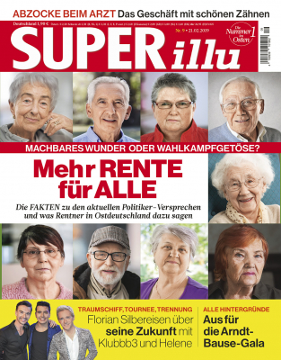 SUPERillu - aktuelle Ausgabe 09/2019