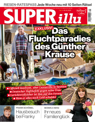 SUPERillu - aktuelle Ausgabe 08/2020