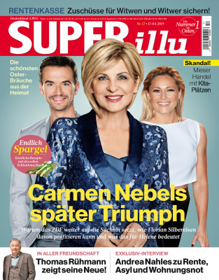 SUPERillu - aktuelle Ausgabe 17/2019