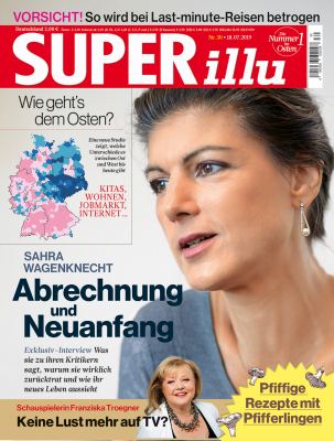 SUPERillu - aktuelle Ausgabe 30/2019