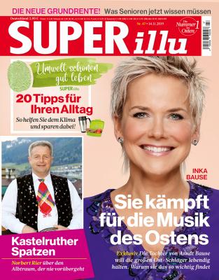 SUPERillu - aktuelle Ausgabe 46/2019