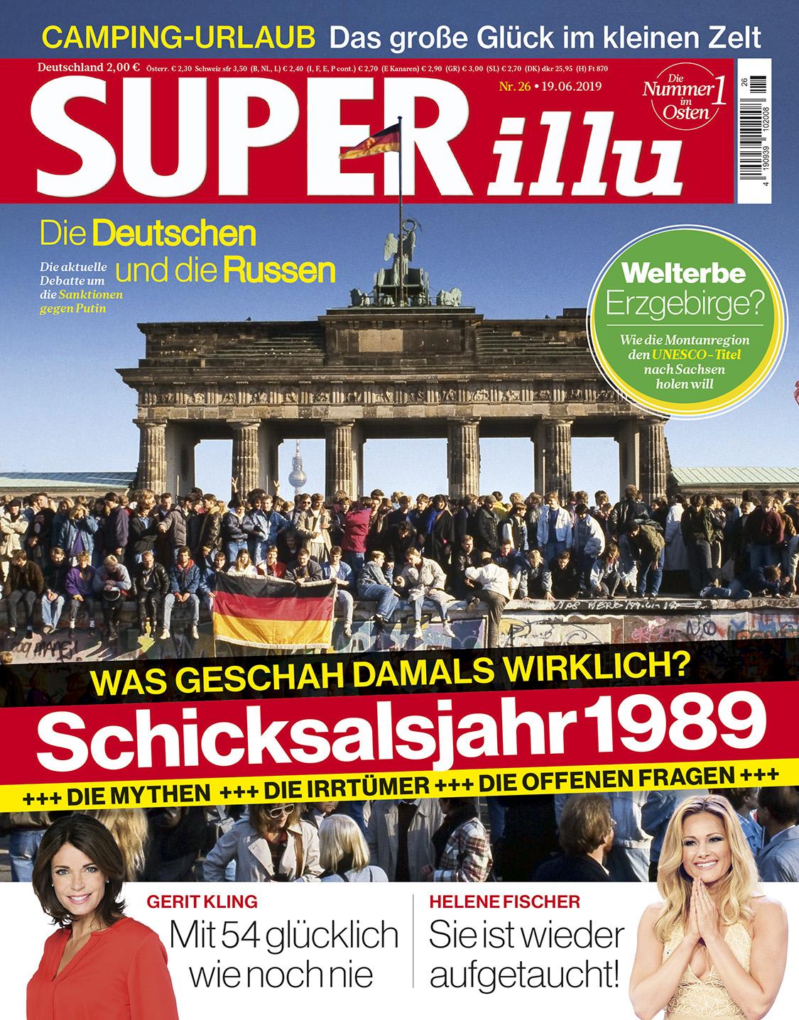 SUPERillu - aktuelle Ausgabe 26/2019