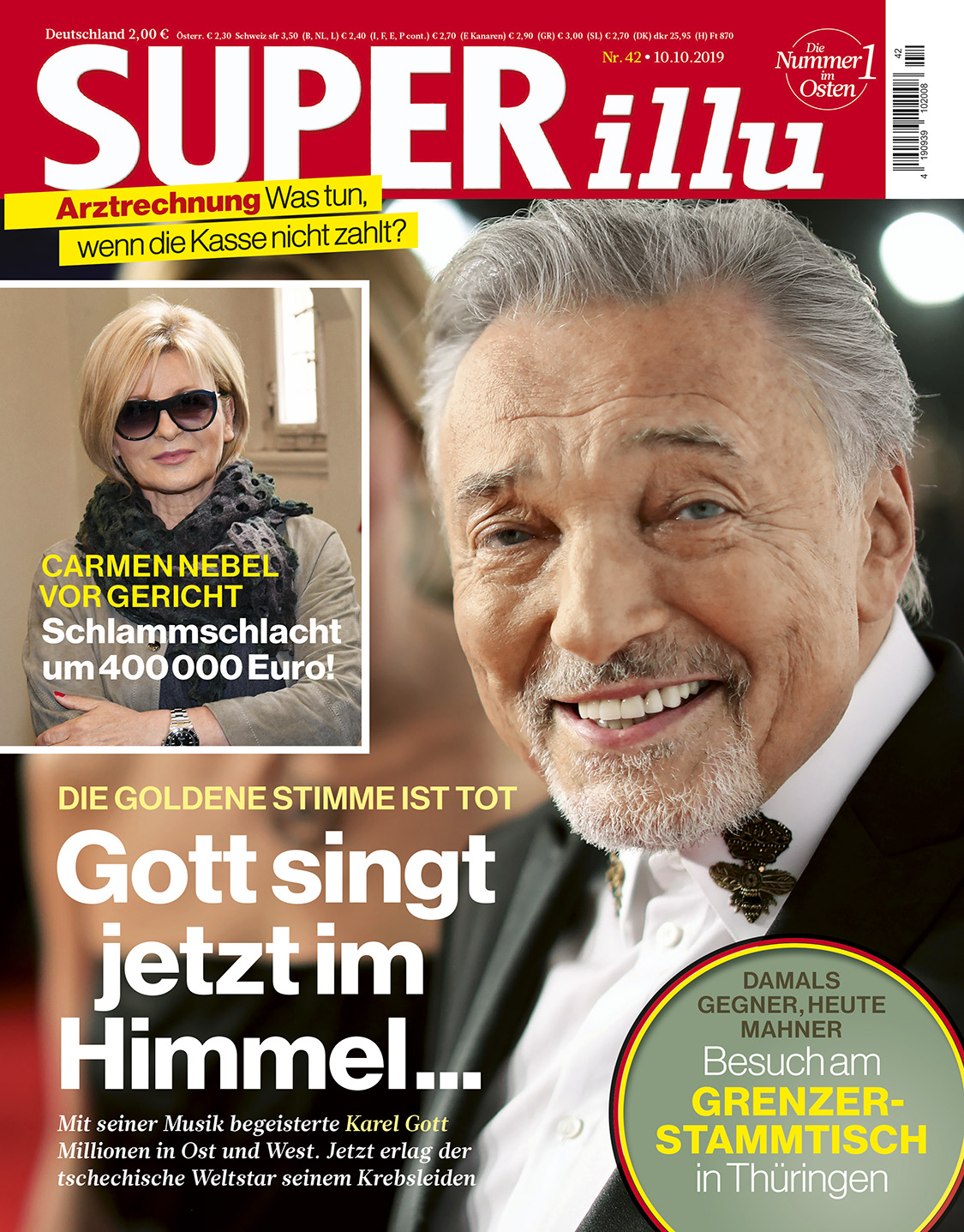 SUPERillu - aktuelle Ausgabe 42/2019