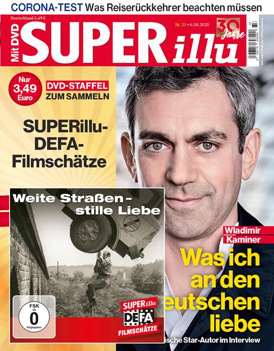 SUPERillu mit DVD - aktuelle Ausgabe